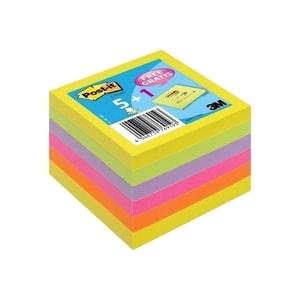 Notite adezive 3M Z-Notes, 600 file, 76 x 76mm, diverse culori