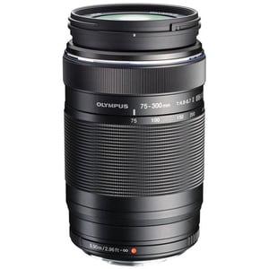 Obiectiv foto OLYMPUS M.ZUIKO Digital ED 75-300mm f/4.8-6.7 II, negru