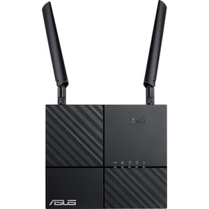 Router Wireless Gigabit ASUS 4G-AC53U AC750, Dual-Band 300 + 433 Mbps, USB 2.0, negru