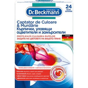 Servetele anti-transfer pentru rufe DR.BECKMANN, 24 buc