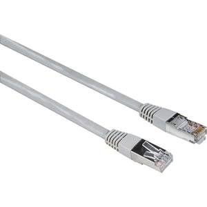 Cablu de retea F/UTP CATe HAMA 200915, 1.5m, gri