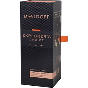 Cafea instant DAVIDOFF Explorer's Choice, 100g