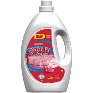 Detergent lichid BONUX 3IN1 Color Radiant Rose, 3.575L, 65 spalari