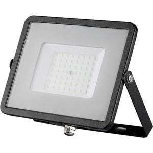 Proiector LED V-TAC 407, 50W, 4000 lumeni, IP65, lumina naturala, negru