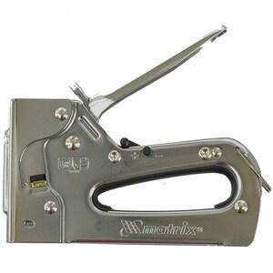 Capsator SPARTA 409139, pentru mobila, reglabil, capse 6-14mm, tip 53