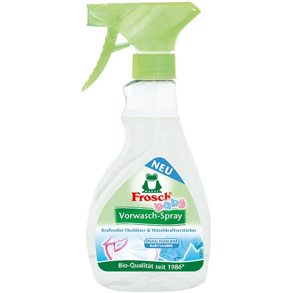 Spray prespalare rufe FROSCH Baby, 300ml