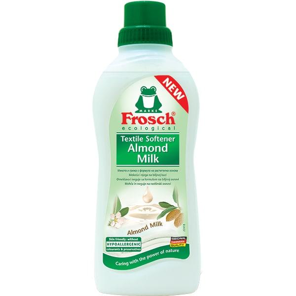 Balsam de rufe ecologic FROSCH Lapte de migdale, 750ml