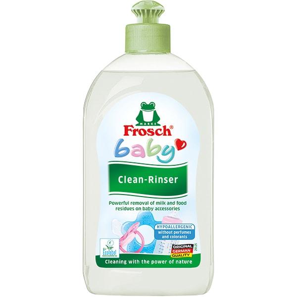 Solutie de curatare pentru vase si biberoane FROSCH Baby, 500ml