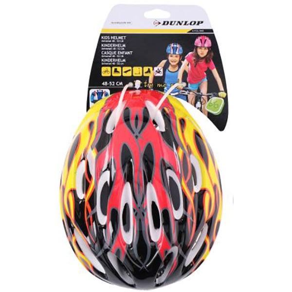 Casca bicicleta pentru copii DUNLOP, 48-52cm, galben
