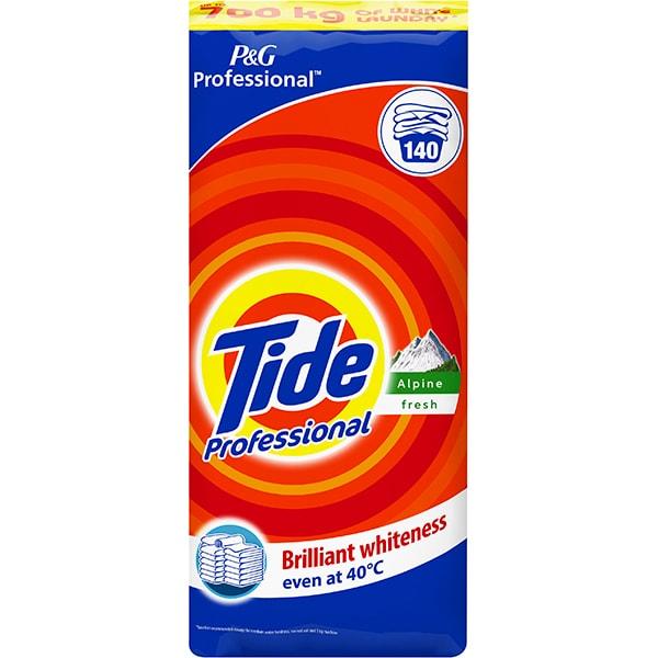 Detergent automat TIDE Professional Alpine Fresh, 14kg, 140 spalari