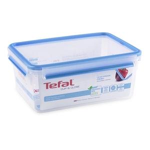 Caserola TEFAL Clip&Close K3022012, 3.7l, plastic, transparent
