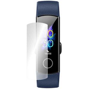 Folie protectie pentru Huawei Honor Band 5, SMART PROTECTION, 4 folii incluse, polimer, display, transparent