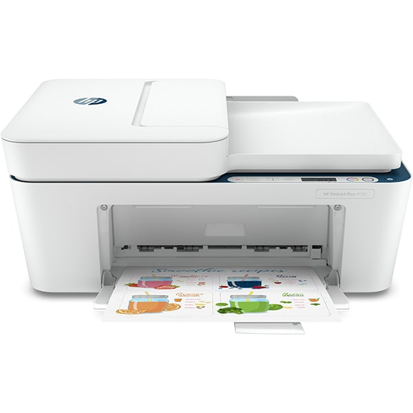 Multifunctional inkjet color HP DeskJet Plus 4130 All-in-One, A4, USB, Wi-Fi