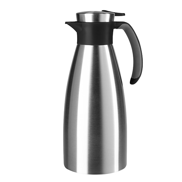 Cana termos TEFAL Soft Grip K3043214, 1.5l, inox, negru