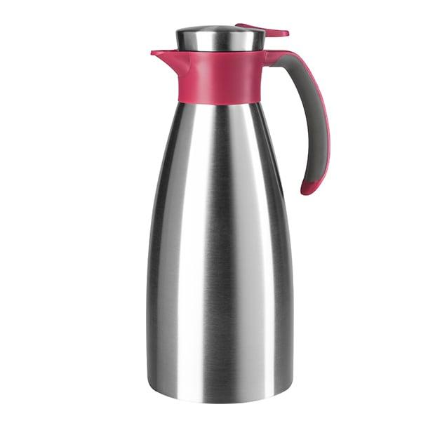 Cana termos TEFAL Soft Grip K3042114, 1l, inox, roz
