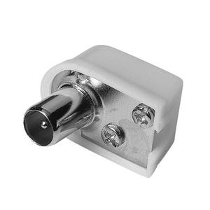 Mufa antena cablu coaxial HAMA 42847, alb