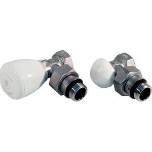 """Set robineti calorifer BIANCHI 42990003, tur manual/termostatabil + retur, 1/2"""" FI-FE"""