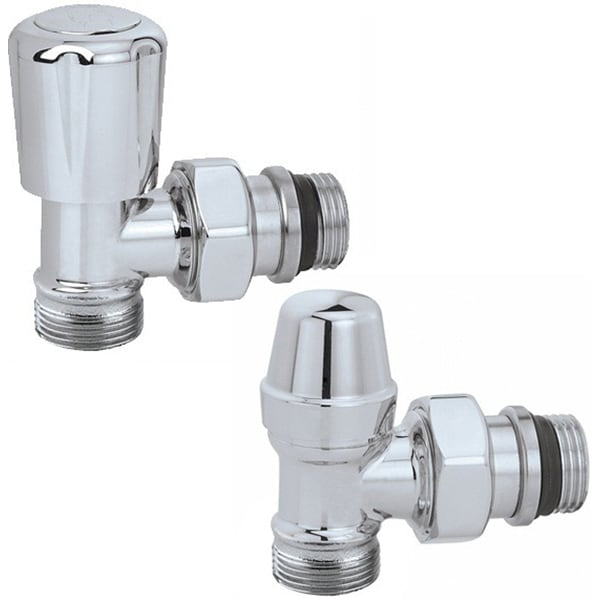 "Set robineti coltar calorifere CALEFFI 42338040, termostatabil, 1/2"""