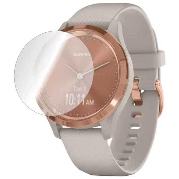 Folie protectie pentru Garmin Vivomove 3s 39mm, SMART PROTECTION, 4 folii incluse, polimer, display, transparent