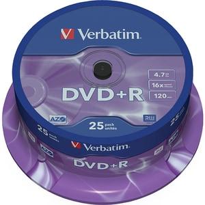 DVD+R VERBATIM 43500, 16x, 4.7GB, 25buc