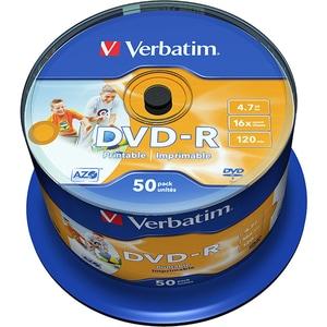DVD-R VERBATIM 43533, 16x, 4.7GB, 50buc