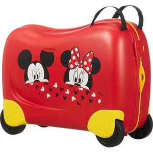 Troler copii SAMSONITE Dream Rider Disney Minnie/Mickey Peeking, 37 cm, multicolor