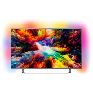 Televizor LED Smart PHILIPS 65PUS7303/12, Ultra HD 4K, HDR, Ambilight, 164 cm