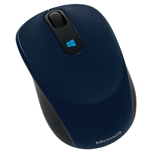 Mouse Wireless MICROSOFT Sculpt Mobile, 1000 dpi, albastru