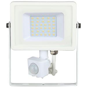 Proiector LED V-TAC 459, 30W, 2400 lumeni, IP65, lumina rece, alb