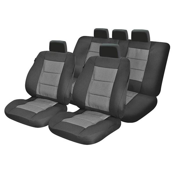 Set huse scaune UMBRELLA Premium Lux M02 45733, negru