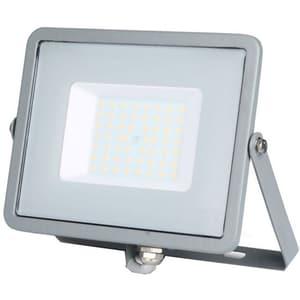 Proiector LED V-TAC 464, 50W, 4000 lumeni, IP65, lumina naturala, gri