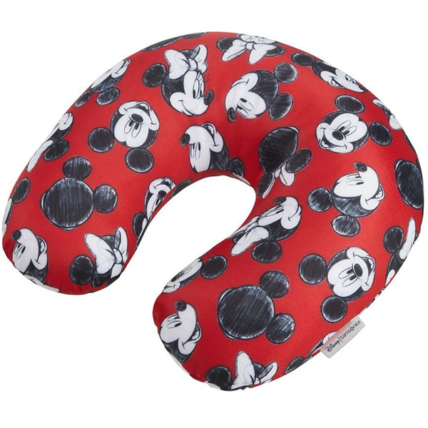 Perna de calatorie SAMSONITE Disney Mickey/Minnie, rosu