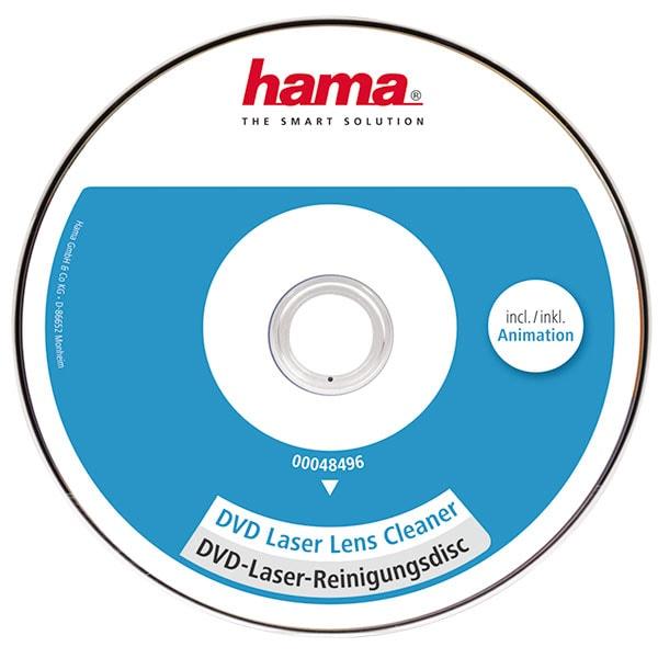 DVD cleaner cu lentile laser HAMA 48496