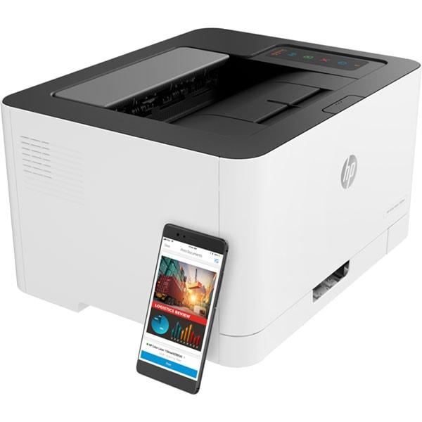 Imprimanta laser color HP Color Laser 150nw, A4, USB, Retea, Wi-Fi
