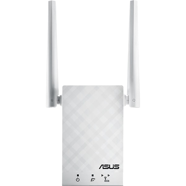 Wireless Range Extender ASUS RP-AC55 AC1200, Dual-Band 300 + 867 Mbps, alb