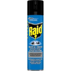 Spray anti-muste si tantari RAID, 400 ml