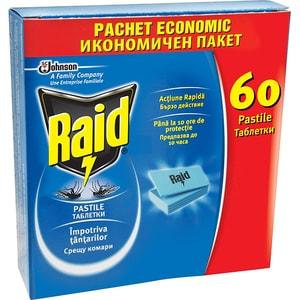 Pastile anti-tantari RAID, 60 buc