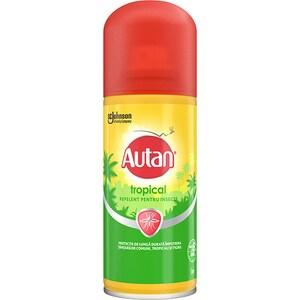 Spray repelent anti-tantari AUTAN Tropical, 100 ml