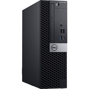 Sistem Desktop PC DELL OptiPlex 5060 SFF, Intel Core i5-8500 pana la 4.1GHz, 8GB, SSD 128GB, Intel® UHD Graphics 630, Windows 10 Pro