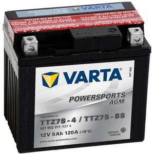 Baterie moto VARTA Powersports AGM 507902011, 12V, 5Ah, 120A