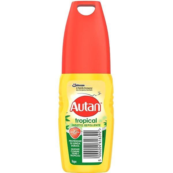 Lotiune repelenta anti-tantari AUTAN Tropical, 100 ml