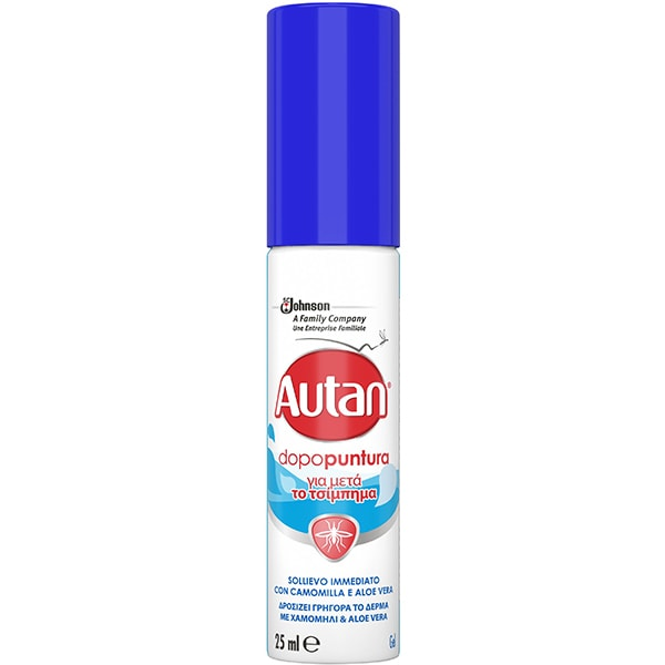 Lotiune pentru tratarea intepaturilor AUTAN Mentol, 25 ml