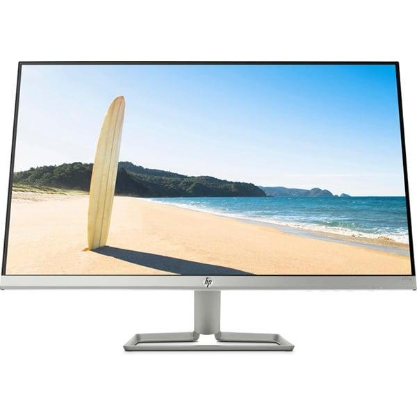 """Monitor LED IPS HP 3KS64AA, 27"""", Full HD, 60Hz, argintiu"""