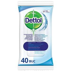 Servetele dezinfectante DETTOL, 40 buc
