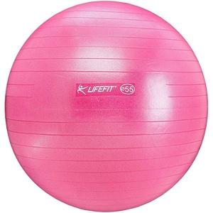 Minge gimnastica DHS 529FGYM8502, 85 cm, roz