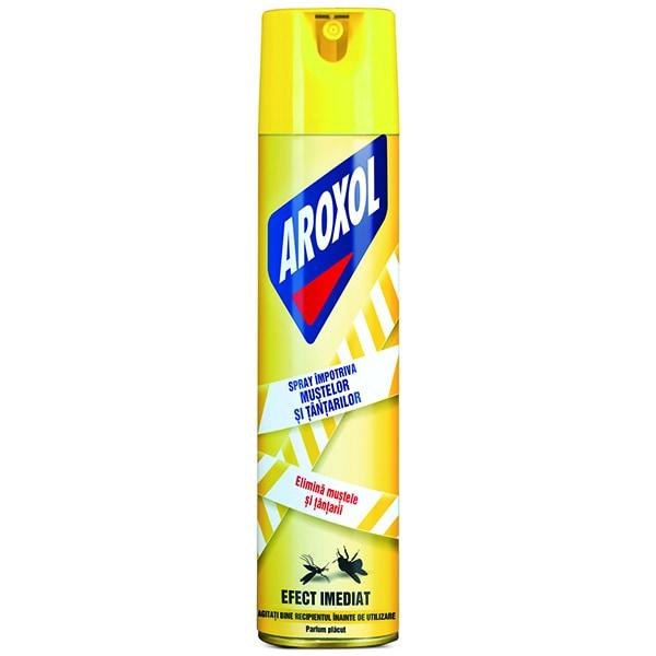 Spray anti-muste si tantari AROXOL, 400ml