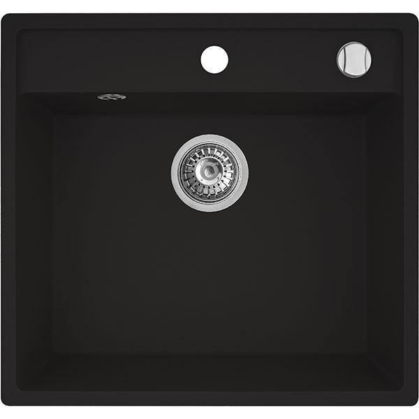 Chiuveta bucatarie PYRAMIS Altexia 1B 70099301, 1 cuva, negru