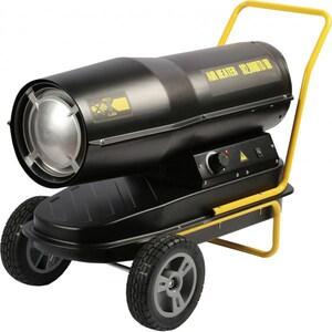 Tun de caldura pe motorina cu ardere directa INTENSIV PRO 53080, 50000 W, negru-galben