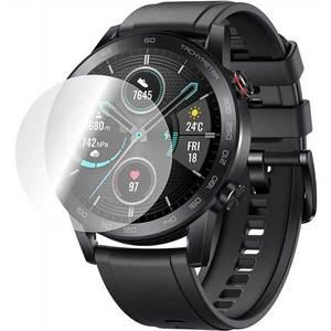 Folie protectie pentru Huawei Honor Magic Watch 2, SMART PROTECTION, 4 folii incluse, polimer, display, transparent