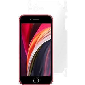 Folie protectie pentru Apple iPhone SE 2, SMART PROTECTION, polimer, spate si laterale, transparent